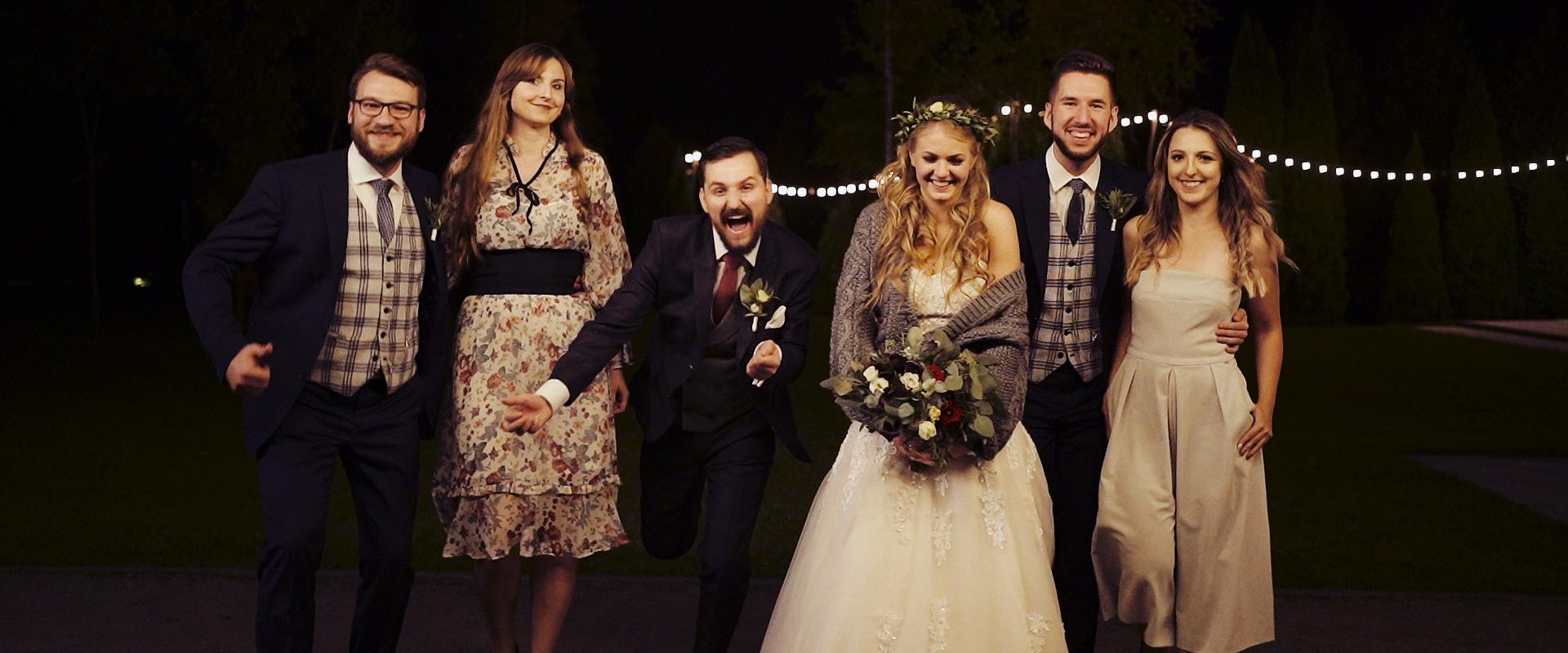 niesamowity film ślubny